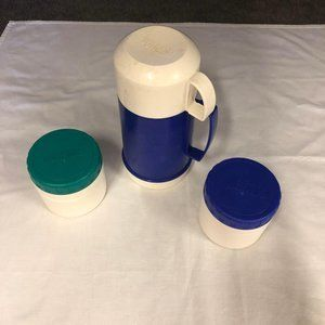 3 Thermos Containers, 2 Small soup and 1 larger